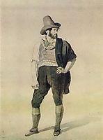 Young Italian, c.1836, kiprensky
