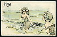 Boys and girls at sea, kirchner
