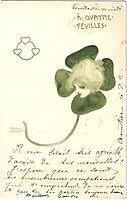 Clovers, 1899, kirchner
