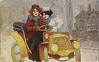Flashing Motorists, 1904, kirchner