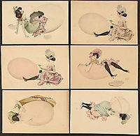 Girls and Eggs, 1901, kirchner