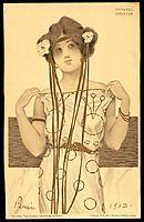 Greek Virgins, 1900, kirchner