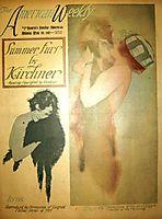 Lillian Lorraine, Hearst-s Sunday American, 1917, kirchner