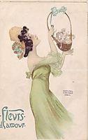 Love Flowers, 1903, kirchner