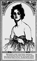 Olive Thomas, The Pittsburgh Press, 1917, kirchner