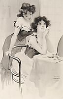 On the dressing table, 1904, kirchner
