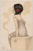 Smoking Women, 1904, kirchner