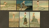 Women dominating landscapes, 1903, kirchner