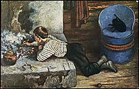 Askeladdens adventure, 1900, kittelsen
