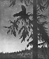 Black grouse, 1900, kittelsen