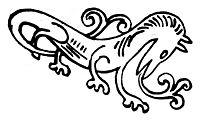 Dragon, kittelsen