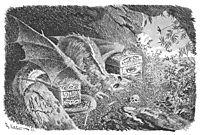 Dragon, 1892, kittelsen