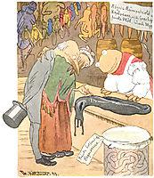 En Delikatessehandel, 1894, kittelsen