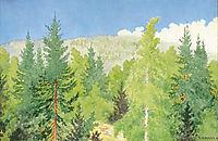 Forest - Skog, kittelsen