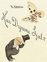 Har dyrene Sjæl? Cover, 1894, kittelsen