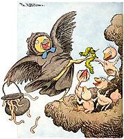 Her Er Levemaate Unger, 1894, kittelsen