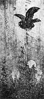 Hoestkveld Bokskap, 1900, kittelsen