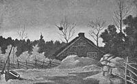 Hoestkveld, 1900, kittelsen