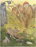 Innfoedte Av Majoristammen, 1894, kittelsen