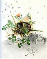 July, 1890, kittelsen