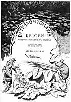 Krigen Mellom Froskene Og Musene 01, 1885, kittelsen