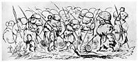 Krigen Mellom Froskene Og Musene 06, 1885, kittelsen