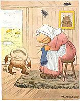 Mor Mor Det Gjoer Saa Vondt Aa Loepe, 1894, kittelsen