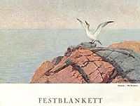 Northern Gannet, 1891, kittelsen