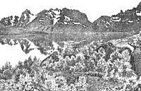Raftsund waterway, 1891, kittelsen