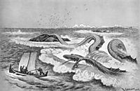 Sea Serpent , 1892, kittelsen