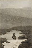 Soria Moria Slott , 1911, kittelsen
