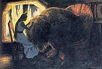 Soria Moria Slott, 1911, kittelsen