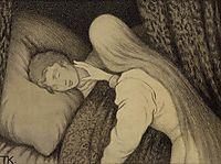White Bear King Valemon, 1912, kittelsen
