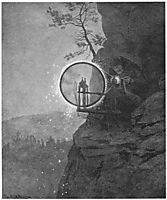 Witch, 1892, kittelsen