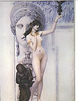 Allegory of Sculpture, 1889, klimt