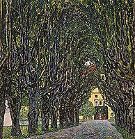 Avenue of Schloss Kammer Park, 1912, klimt