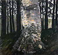 Birch in a Forest, 1903, klimt