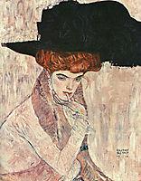 The Black Feather Hat, 1910, klimt