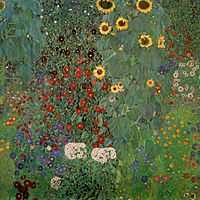Country Garden with Sunflowers, 1905-1906, klimt
