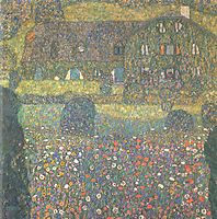 Country House by the Attersee, c.1914, klimt