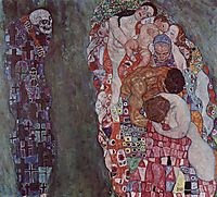 Death and Life, 1916, klimt
