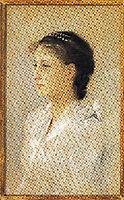 Emilie Flöge, Aged 17, 1891, klimt