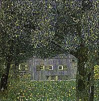 Farmhouse in Upper Austria, 1911-12, klimt
