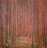 Fir Forest I, 1901, klimt