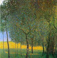 Fruit Trees, 1901, klimt