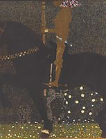 The Golden Knight, 1903, klimt