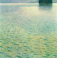 Island in the Attersee, klimt