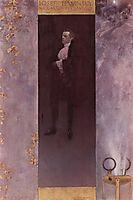 Josef Lewinsky, 1895, klimt