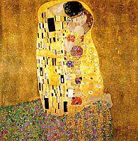 The Kiss, 1908, klimt