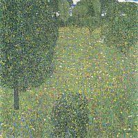 Landscape Garden (Meadow in Flower), 1906, klimt